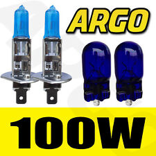 H1 100W XENON SUPER WHITE 448 HEADLIGHT BULBS MERCEDES 300SE,420SE,500SE,300SEL,