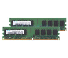 Samsung 2X 2GB DDR2 800MHz PC2-6400U DIMM RAM Memory For Dell OptiPlex 360 740