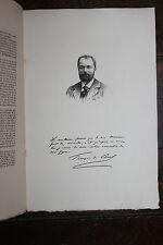 1900 Mariani Uzanne Biographie François de Curel eau-forte autographe