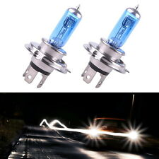 2 x H4 HID Xenon Super White Car Auto Headlight 12V 100W Halogen Bulb Lamp Light