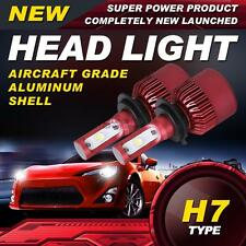 Pair Power H7 CREE 252W 25200LM LED Headlight Single Beam Bulbs 6500K Car Lamp