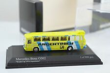Minichamps ARGENTINA Mercedes Benz O302 Germany World Cup 1974 N Scale 1:160