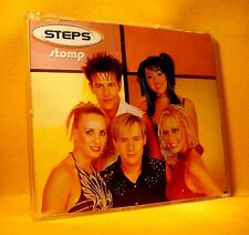 MAXI Single CD Steps Stomp 3TR 2000 Euro House, Disco