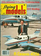 1977 Flying Models Magazine: Cessna 401A/RC Boating/CO2 Powered FF/California