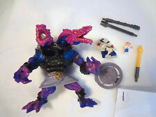 Mighty Max Battle Max Double Demon 100% Complete Set Playset Bluebird Toys