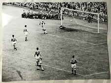 photo press football    World Cup 1958  Brazil-Italie    215