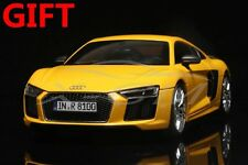 Car Model Audi R8 V10 Plus Coupe Sport 1:18 (Yellow) + SMALL GIFT!!!!!!!!!!!