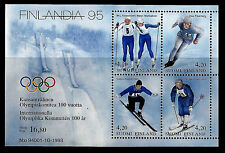 FINLAND. Winter Olympics medalists. Sheet of 4. 1994, Scott 933. MNH (BI#13)