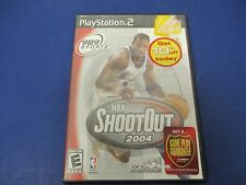 PlayStation 2, NBA ShootOut 2004, Rated E, 989 Sports, Online Tournaments