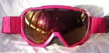 NEW $110 Scott FIX Womens Deep Pink Winter Snow Ski goggles Ladies roxy red