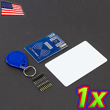 [1x] RFID RC522 Reader Module Kit with Card Tag Key Chain for Arduino 13.56 Mhz
