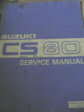 SUZUKI CS80 SERVICE MANUAL 1983