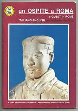 1994 Un Ospite A Roma A Guest In Rome Tour Guide Paperback Book Italiano-English