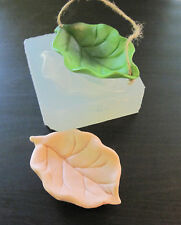Mold for Leaf Bed or Swing Soft Silicone Mold for Fondant, Polymer Clay, Cake De