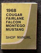 Werkstatthandbuch Ford Mustang 1968