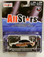 2008 '08 MITSUBISHI LANCER EVOLUTION EVO ALL STARS EDITION MAISTO DIECAST RARE