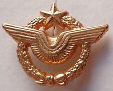 PINS MILITAIRE INSIGNE BREVET PILOTE ARMEE DE L'AIR AVION MINIATURE 25X20 MM
