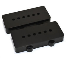 PC-6400-023 (2) Black Fit Fender Jazzmaster Guitar Pickup Covers