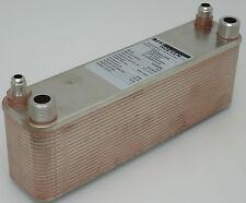 Plattenwärmetauscher Split Klima Heizung Pool 45 bar R410A R407 Bördel 16000 BTU
