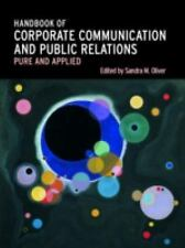 A Handbook of Corporate Communication and Public Relations-ExLibrary