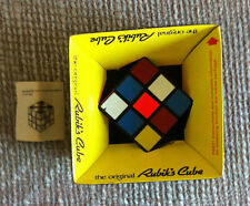 VINTAGE ORIGINAL AUTHENTIC RUBIK'S CUBE BY IDEAL 1980 IN ORIGINAL BOX