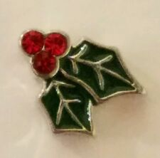 ORIGAMI OWL HOLLY CHRISTMAS SPARKLE CHARM