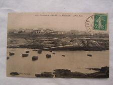 Ancienne carte postale de Kerroch environs de Lorient Ploemeur Le port blanc