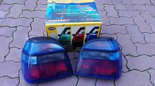VW Golf 3 Mk3 Cabrio Mk4 GT GTI 16V TDI VR6 syncro HELLA Blue Euro Tail Lights