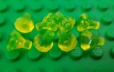 *NEW* Lego Bulk Trans Yellow Jewels Gems Treasure Mini Figures People - 8 pieces