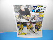 NCAA Univ of Michigan Hockey 2011 Frozen Four St Paul Game Notes