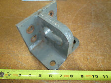 "L Bracket 90 degree 4-3/4"" Wide 4 ""x 3""x 4"" 3/8"" steel Plate bolt holes"