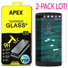 2x Premium Real (Tempered Glass) Screen Protector Guard Shield Film For LG V10