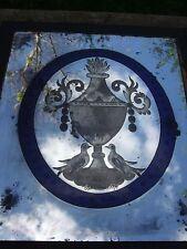 Antique Venetian Etched Mirror 19th Century RARE