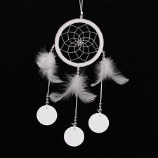 Handmade White Dream Catcher With Feathers Wall Hanging Decoration Ornament Gift