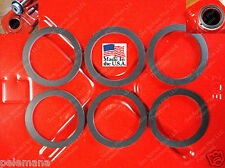 6 Jerrycan Spout Gaskets Gas Fuel Can Gallon 20L Military Army Rubber NEW GSKT 6