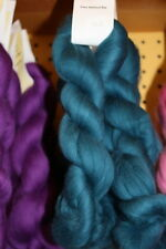Merino Wool Roving Top Teal 1 oz