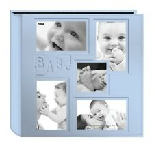 Baby Photo Album 240 Photos 5 Pocket Pages Boy Girl Memory Book Picture Newborn
