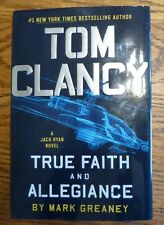 Tom Clancy True Faith and Allegiance by Mark Greaney Hardcover Book (English)