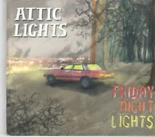 (BK384) Attic Lights, Friday Night Lights - 2008 DJ CD