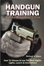 Brand New Book, Handgun Training for Personal Protection: and Free Shipping