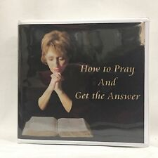 How to Pray and Get the Answer Christ Chapel Seminar 2004 6 DVDs Free Shipping