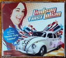 Lindsay Lohan - First (Rare 4 Track Australian CD Single) EXCELLENT condition