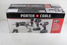 Porter-Cable Tradesman 18V 4-Tool Combo Kit Contractors, Electricians Power Tool