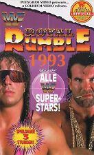WWF Royal Rumble 1993 ORIG VHS WWE Wrestling deutsche Version