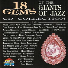 18 Gems Of The Giant Of Jazz (Miles Davis, Lester Young) 1992 CD Album