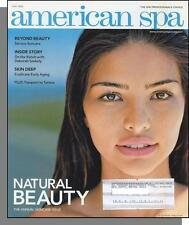 American Spa - 2006, May - Beauty/Health Spa Trade Magazine!