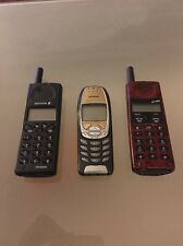 Vintage Mobile Phone Collection Nokia Sony Ericsson - Rare!!