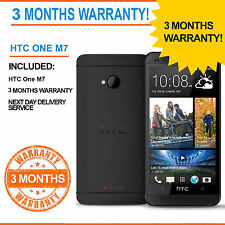 HTC One M7 - 32 GB - Black (Unlocked) Smartphone