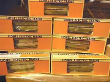 NEW LIONEL AMTRAK PASSENGER SET- W/18303 GG1 AND 7 ALUMINUM CARS-  MINT- S1