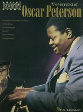 Artist Transcriptions The Very Best Of Oscar Peterson Play PIANO MUSIC BOOK
